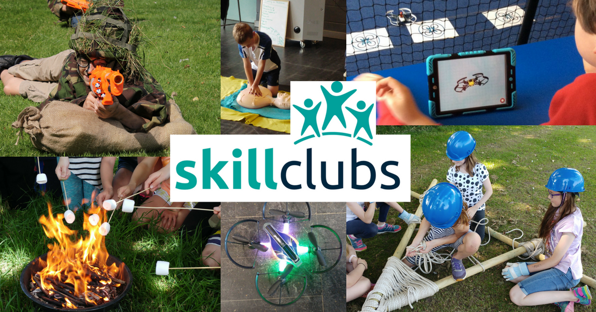 Skill Clubs are nearly here again!