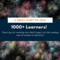 1000 learners