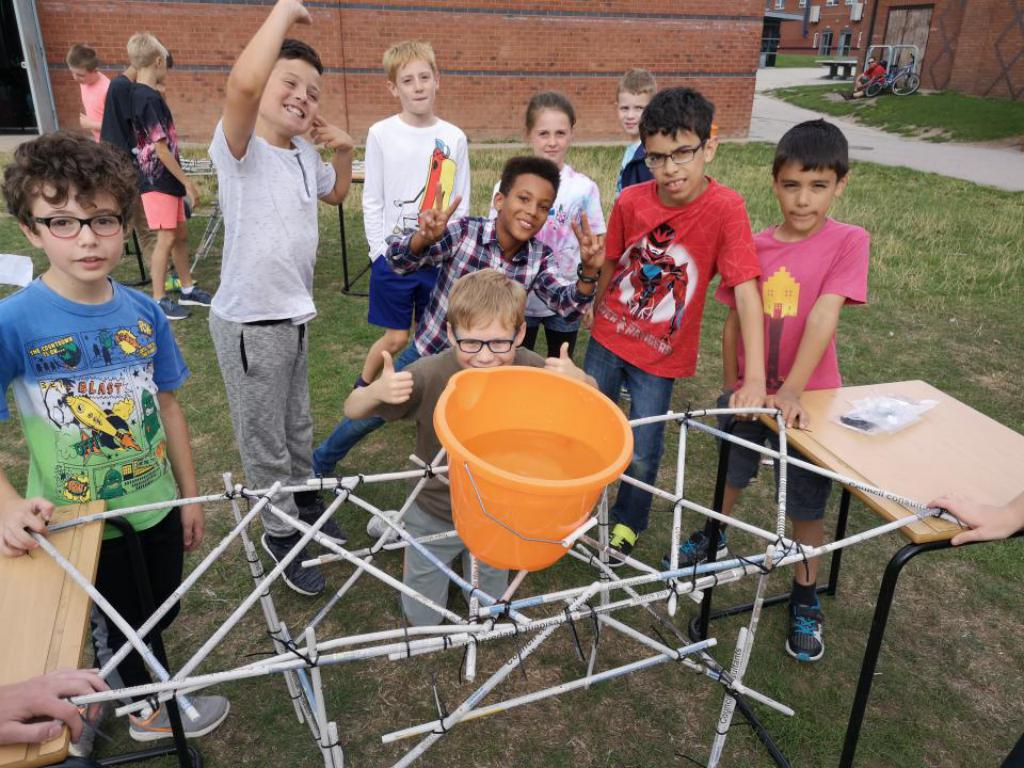 Learn how engineers think, work and build with lots of different materials and what is important to make sure they work!